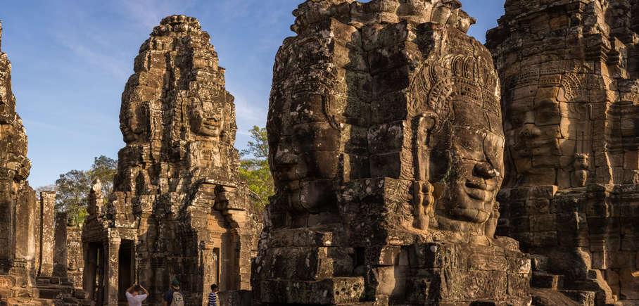Wieże w świątyni Bayon, Kambodża