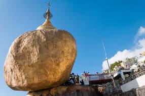 Golden Rock, Kyaiktiyo, Myanmar