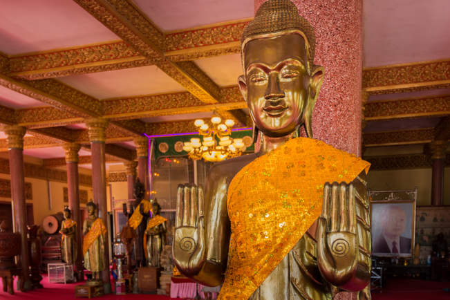 Budda w Wat Ounalom