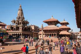 Plac Durbar, Patan, Nepal
