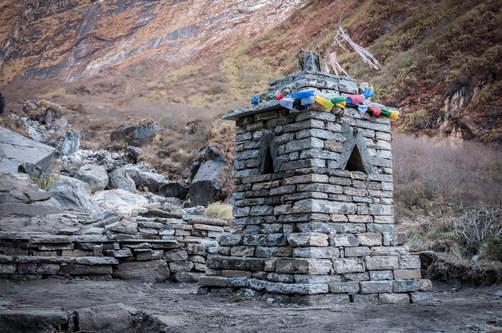 Pomnik przodków, rejon Annapurny