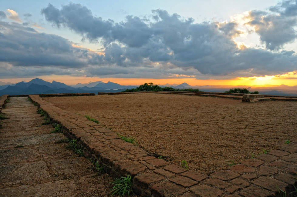 Ruiny Pałacu króla Kassapy, Sigiriya