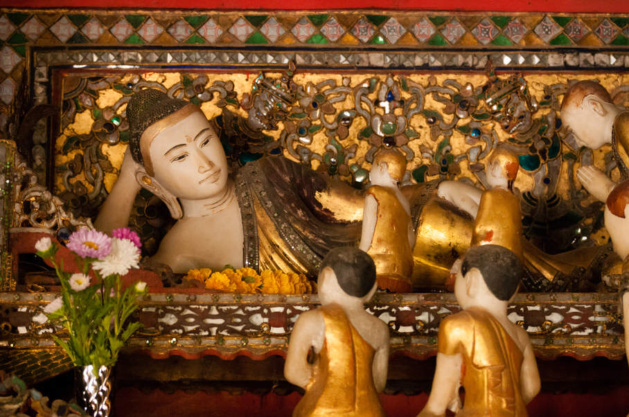 Klasztor Nga Phe Kyaung jezioro Inle