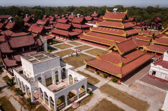Pałac króla Mindona, Mandalay, Birma