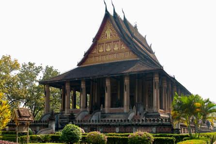 Świątynia Haw Phra Kaew, Wientian