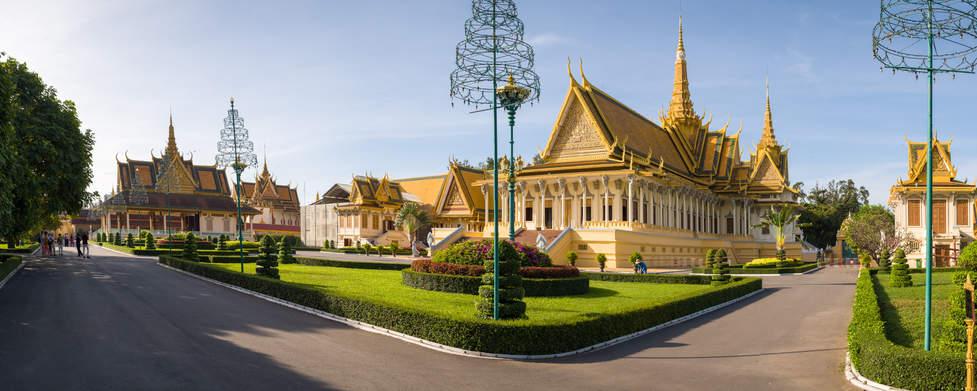 Pałac Królewski w Phnom Penh, Kambodża. Fotografia Maciej Rutkowski