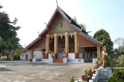 Świątynia, Luang Prabang