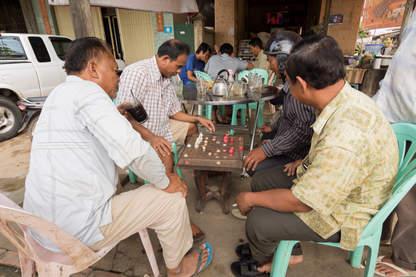 Szachy w Battambang