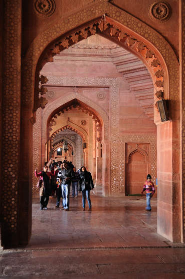 Meczet Jama Masjid, Fatehpur Sikri, Indie