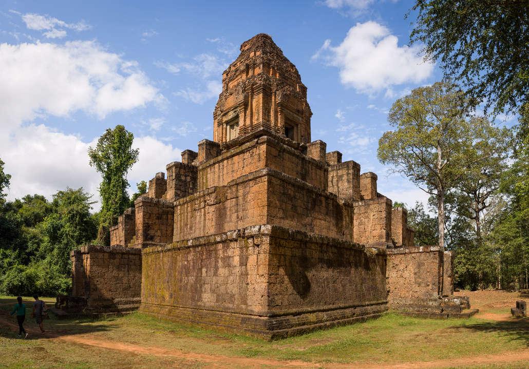 Świątynia Baksei Chamkrong, Angkor, Kambodża. Fotografia Maciej Rutkowski
