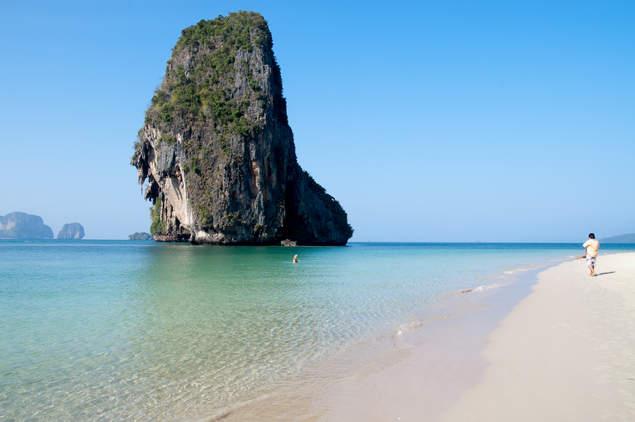 Plaża w Tajlandii, Krabi