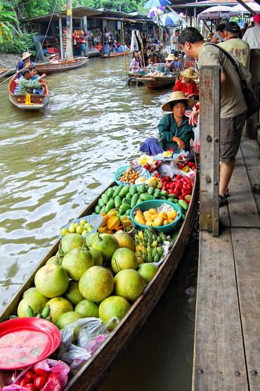 Wodny Targ, Bangkok
