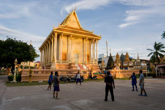 Świątynia Krong Kracheh, Kratie, Kambodża