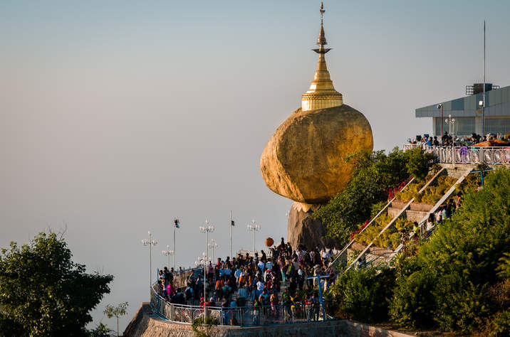 Złota Skała, Kyaiktiyo, Myanmar