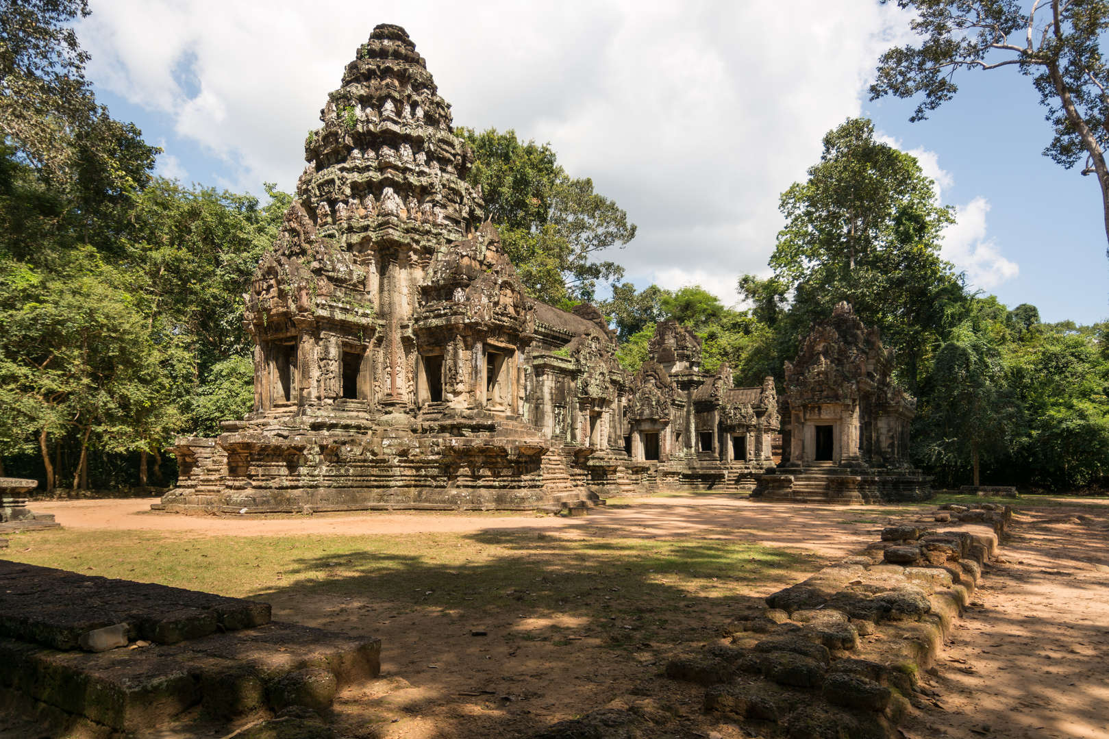 Świątynia Thommanon, Angkor, Kambodża. Fotografia Maciej Rutkowski