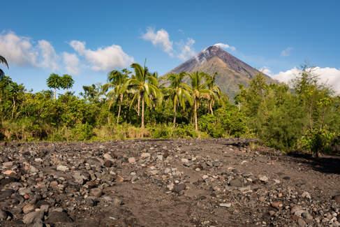 W drodze na wulkan Mayon, Filipiny