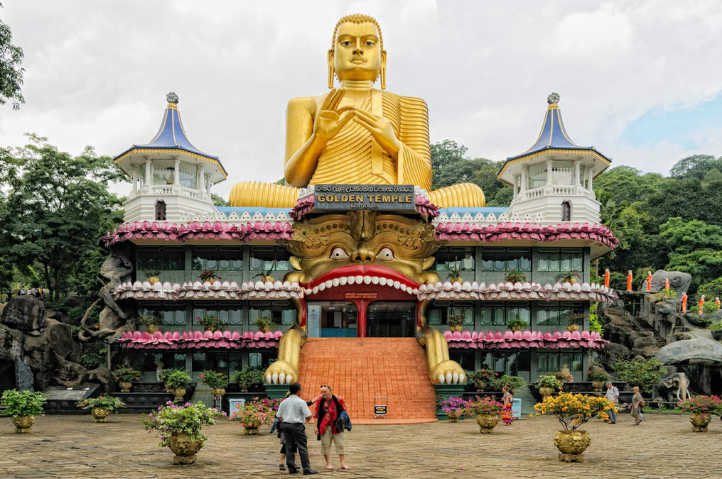 Złota Świątynia, Dambulla