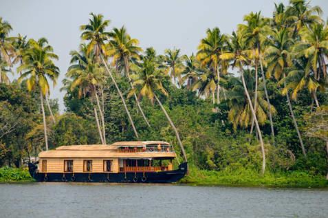 Łódź w Kerali