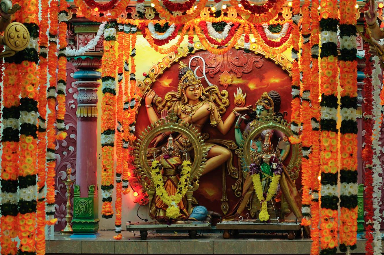 W hinduistycznej świątyni Georgetown