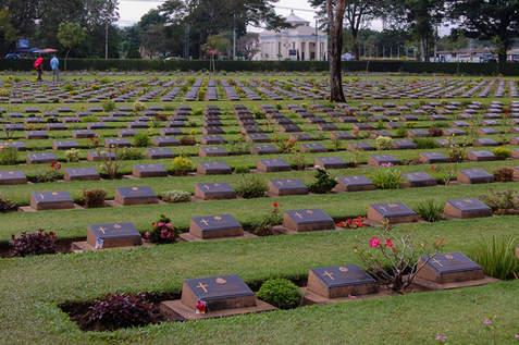 Cmentarz, Kanchanaburi