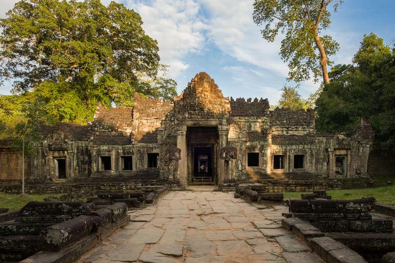 Świątynia Preah Khan, Kambodża. Fotografia Maciej Rutkowski