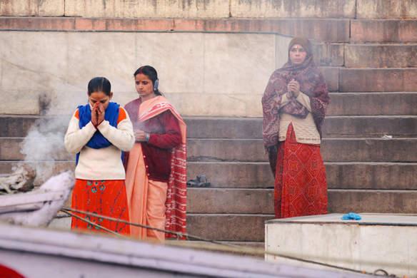 Modlitwa nad Gangesem