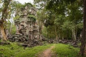 Preah Khan Kampong Svay. Fotografia Maciej Rutkowski
