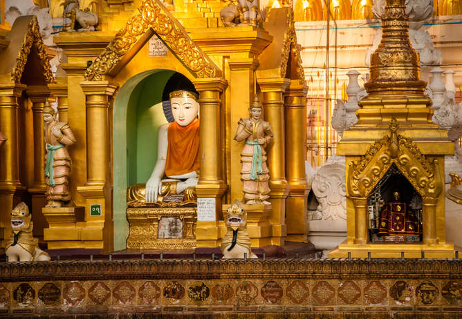 Świątynia Shwedagon, Rangun