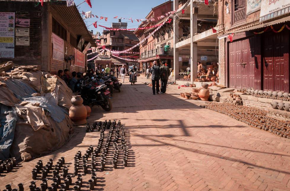 Ulica garncarzy, Bhaktapur