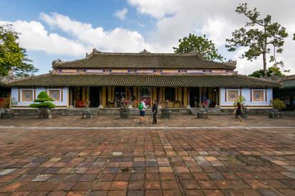 Pawilon w zakazanym mieście, Hue