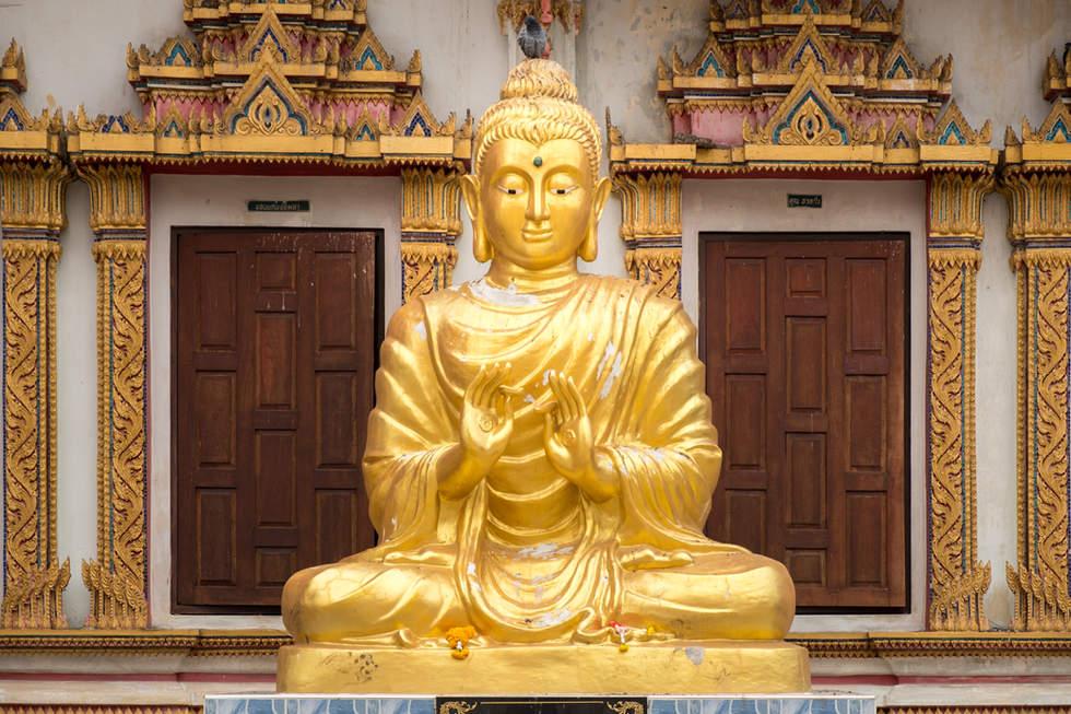 Budda w Khon Kaen, Tajlandia