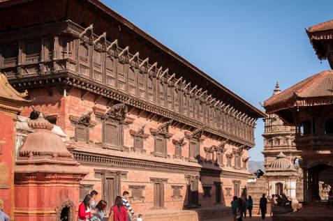 Zabytki Bhaktapur