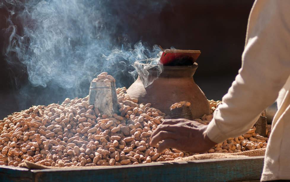 Prażone orzeszki ziemne, Patan