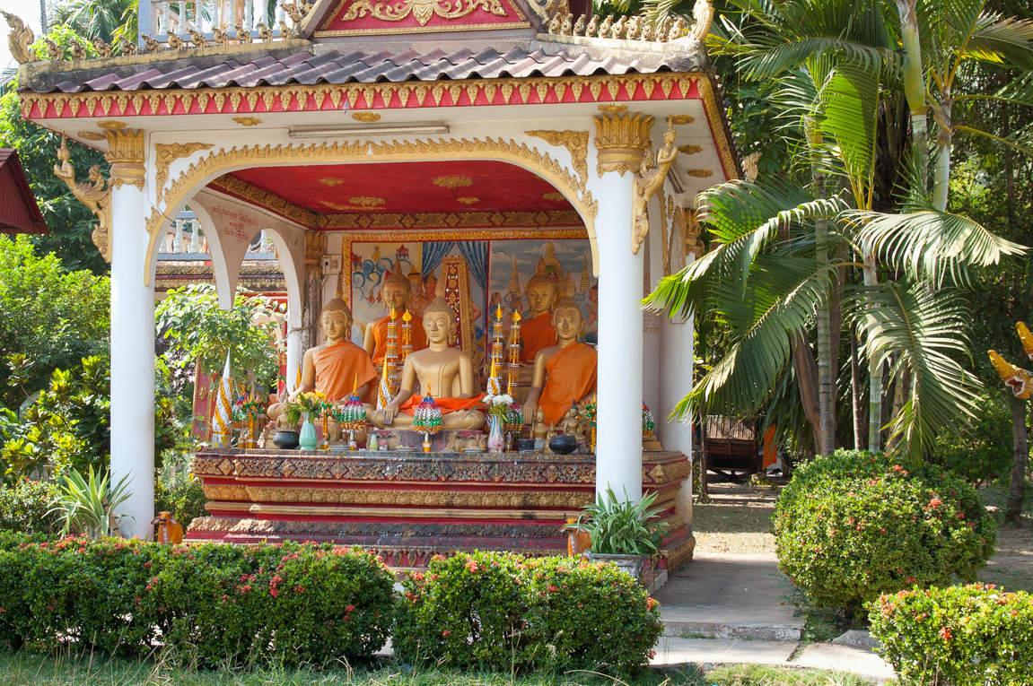 Świątynia, Wientian, Laos