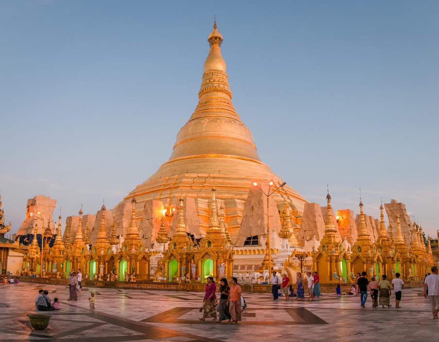 Shwedagon Pagoda, Yangon (Rangun), Myanmar (Birma)