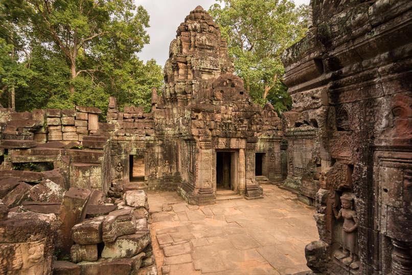 Świątynia Ta Som, Angkor, Kambodża. Fotografia Maciej Rutkowski