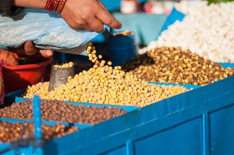 Stoisko z przekąskami, Patan