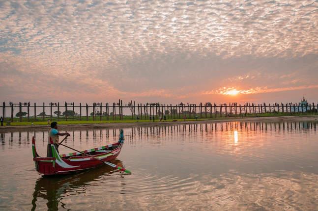 Most U Bein, Amarapura, Myanmar