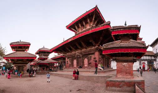 Świątynie Kathmandu, Durbar Square