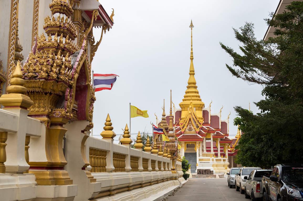 Świątynia w Khon Kaen, Tajlandia