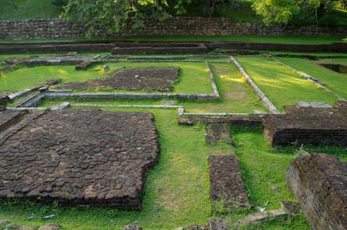 Pozostałości zabudowań, Sigiriya