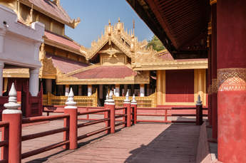 Pałac królewski, Mandalay