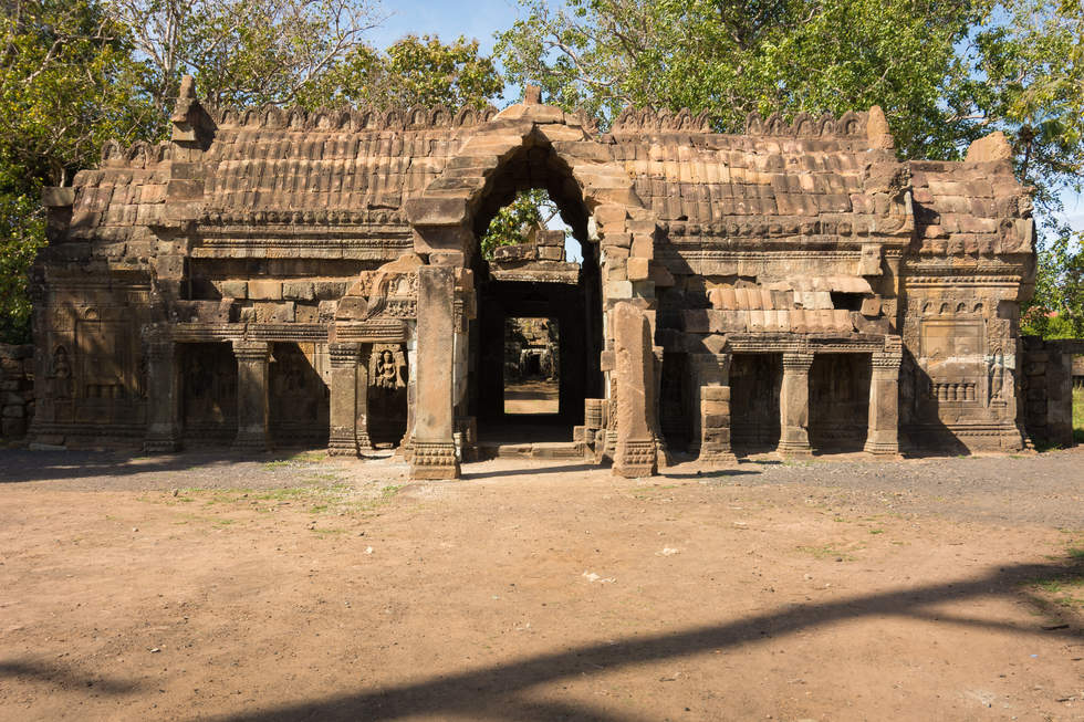 Świątynia Wat Nokor, Kampong Cham, Kambodża. Fotografia Maciej Rutkowski