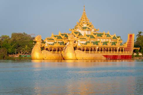 Łódź Królewska, Yangon (Rangun)