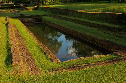 Starożytny basen, Sigiriya