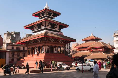 Świątynie na Placu Durbar, Kathmandu