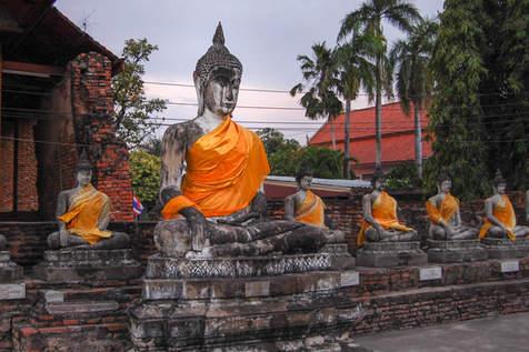 Posągi Buddy, Ayutthaya