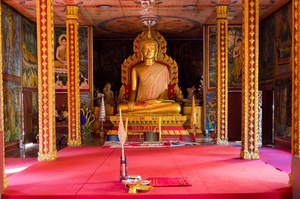 Świątynia Wat Luang, Pakse, Laos