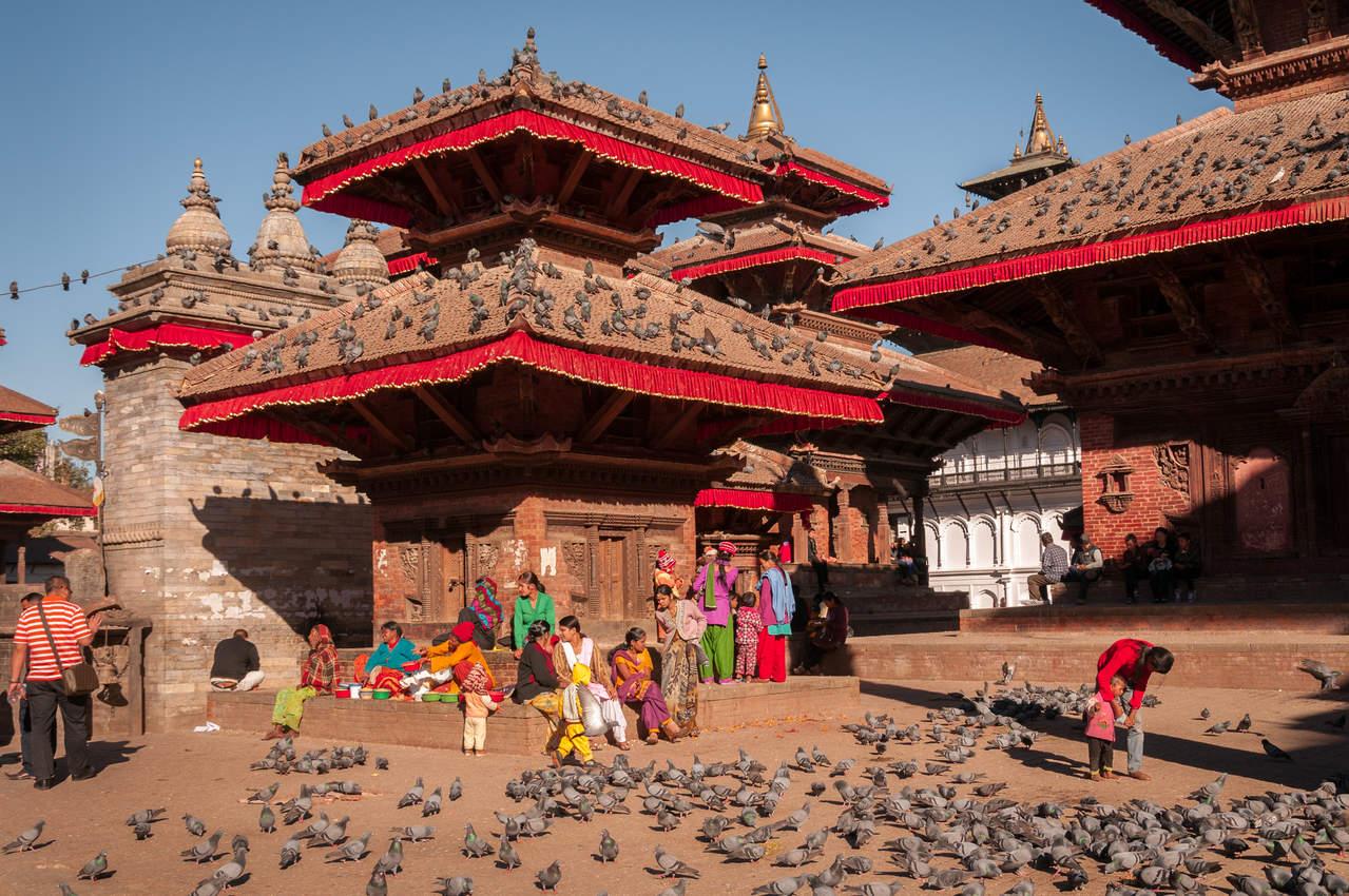 Świątynie, Plac Durbar, Kathmandu