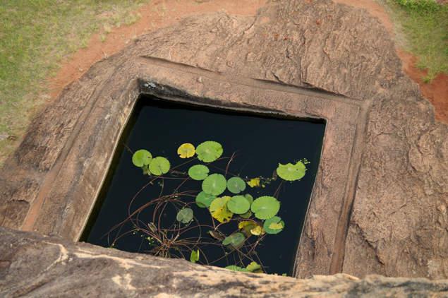 Oczko wodne, Sigiriya